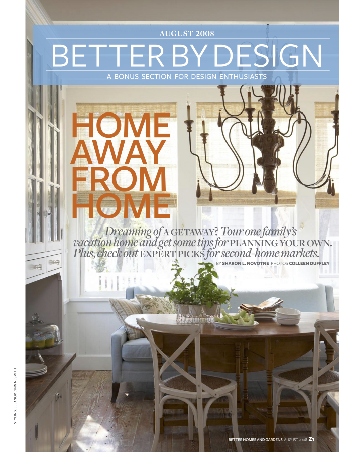 Read about our Watersound, Florida, Cape Cod shingle home featured in Better By Design magazine.